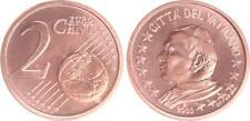 Vaticano 2 Céntimos 2003 Moneda de Curso Con Papstmotiv Recién Acuñado