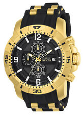 Invicta 24965 Men's 'Pro Diver' Quartz Gold-Tone and Stainless Steel  Watch