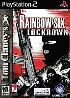 Tom Clancy's Rainbow Six Lockdown For PlayStation 2 PS2 Complete