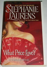 Stephanie Laurens WHAT PRICE LOVE? Bar Cynster 15  Historical Romance