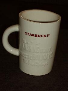2010 STARBUCKS CHRISTMAS HOLIDAY COFFEE MUG