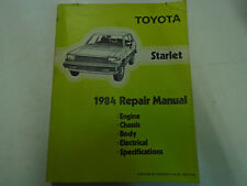 1984 Toyota Starlet Service Shop Repair Workshop Manual Factory OEM Book