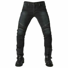 Hot cool Men Fitted Motorcycle Jeans Motorbike Pants Denim Trousers Off Road Pad