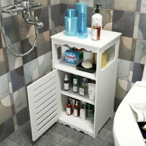 Freestanding Floor Cabinet Bathroom Vanity Storage Unit Cupboard Home Discount