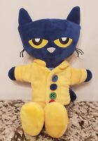 """17"""" PETE the blue CAT PJ DAY soft book STORYBOOK ZOOBIES"""