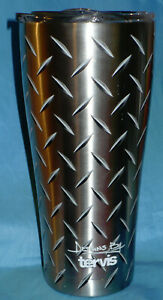 Tervis 30oz. Stainless Steel Diamond Plate Tumbler 8hr Hot 24hr Cold