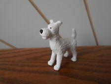 Snowy el perro de juguete de McDonald's Happy Meal Mini Figura Aventuras de Tintin 2011