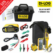 Di-log dl9118 TESTER MULTIFUNZIONE KIT8 con multimetro, Socket Tester e più