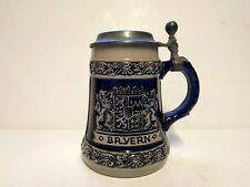 Vintage Bayern Beer Stein Zinn 0.5L Lichte Made in West Germany