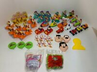 VINTAGE LOT OF 54 MC DONALD'S HAPPY MEAL Duck Tails Barbie Cabbage Patch A7