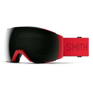Smith I/O MAG XL Goggles Lava ChromaPop Sun Black+Bonus