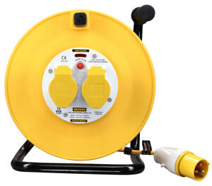 MASTERPLUG LVCT5016/2-MP 50m 16A 110V Cable Reel