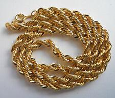 Vergoldete Halskette (ca. 45 cm), ca. 16,5 Gramm schwer