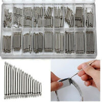 360pcs Watchmaker Watch Band Spring Bars Strap Link Pins Steel Repair Kit Tools