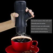 New Manual Ground Coffee Machine Set Espresso Maker Travel Mug Cup Portable