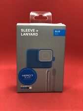 GoPro Sleeve + Lanyard for HERO 7  ACSST-003 (Blue)