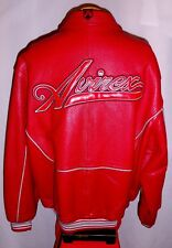 "AVIREX"" TACTICAL!"" NEW YORK LEATHER Jacket/Coat***4XL**$695***EXCELLENT!"