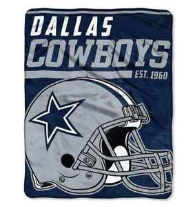"""Dallas Cowboys  46"""" x 60"""" 40 Yard Dash Micro Raschel  Throw Blanket"""