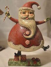 New Bethany Lowe Balancing Santa ~ - Christmas ~ Handpainted - Jp2134