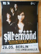 SILBERMOND 2009 BERLIN  -  orig.Concert-Konzert-Tour-Poster-Plakat DIN A1