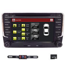 "VW Golf MK5 7"" Car Radio Stereo DVD Player Bluetooth iPod USB GPS Navi+CAM+MAP"