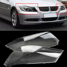 Clear Headlight Cover Headlamp Lens For BMW 3Series E90 E91 4 Door 2005-2008 USA