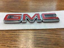 "GMC Replacement Logo Red Decal Emblem Replica Sticker 4-5/8"" x 1-1/8"" x 1/4"""