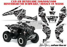 AMR DEKOR KIT ATV CAN-AM RENEGADE, DS250,DS450,DS650 SILVERSTAR SILVERHAZE B