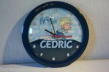 C50 Horloge bande dessinée Cédric Dupuis 2004