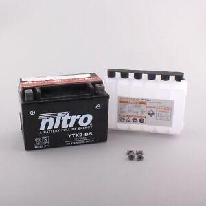 Batterie für KAWASAKI 750ccm Ninja ZX-7RR  Baujahr 1996-1999 (YTX9-BS)