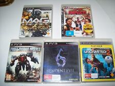 "Bulk Lot No2 Great Titles For PlayStation 3 All in Great Condition ""L@@K"""
