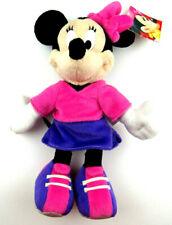 "2001 Mattel Fisher Price Minnie Mouse Pink Purple Plush 12"" Disney Plush Toy"
