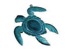 Ocean Sea Turtle Bell, Metal Ornament ~ little cutie ~ Figurine ~ Statue