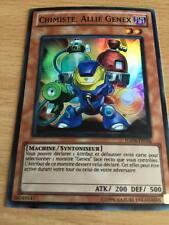 Carte Yu-Gi-Oh! HA04-FR036 Chimiste, Allié Genex (Super Rare)