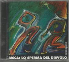 BISCA - Lo sperma del diavolo - CD RARO SIGILLATO