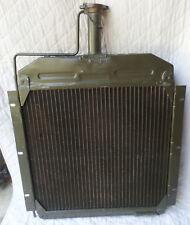 Military Surplus Cooper / Brass Engine Radiator P/N E1227-3 New / Unused OS