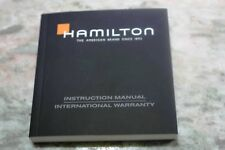 Hamilton vintage booklet warranty papers chronograph used condition