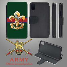 King's Regiment iPhone Flip Case Cover