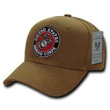 Coyote United States US Marines Corps USMC Marine Cotton Baseball Ball Cap Hat