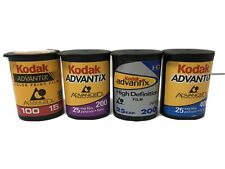 Lot Of 4 Kodak Advantix Color Aps Film 100, 200 400 Speed 90 exp Total Expired