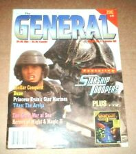 THE GENERAL vol.32 #1 - Avalon Hill - Starship Troopers, Dune, Breakout:Normandy