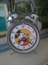 Toon Disney Channel 1990s Promo Bell Alarm Clock Mickey Mouse RARE