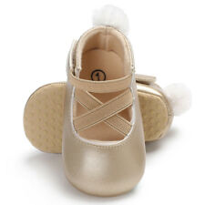 Newest Princess Ballet Dress Shoes Infant Toddler Soft Leather Sole First Walker