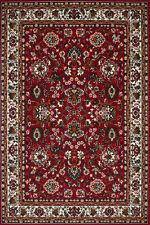 Tapis d'Orient classique Persia Tapis poil ras Tapis floral rouge 120x170