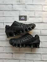 New Deadstock Men's Nike Shox TL Black Pack Trainers UK 9 US 10 EU 44 in Hand