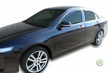 DHO17176 HONDA ACCORD 4 DOOR SALOON 2003-08 WIND DEFLECTORS 4pc HEKO TINTED