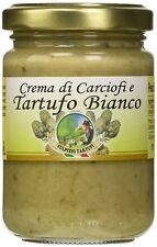 Crema di Carciofi e Tartufo Bianco - 130 gr - Sulpizio Tartufi