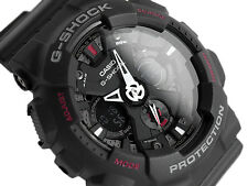 Casio G Shock GA-120-1A Motorcycle Men Matte Black Strap Watch GA-120-ADR