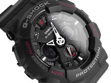 Casio G Shock GA-120-1A Motorcycle Men Matte Black Strap Watch GA-120-ADR
