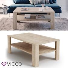 VICCO Couchtisch Sonoma Eiche Wohnzimmertisch Beistelltisch Holztisch